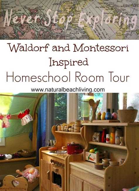 montessori amp waldorf inspired homeschool room 192 | hsroompin1