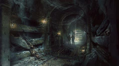wolfenstein   blood artwork shows  catacombs