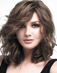 Coupe Cheveux Longs Femme : coupe de cheveux femme mi long coiffure simple et facile ~ Dallasstarsshop.com Idées de Décoration