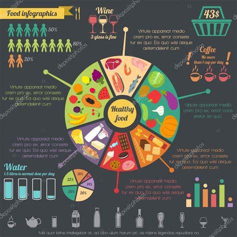 cuisine concept 2000 healthy food infographic stock vector macrovector