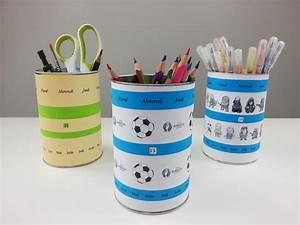 Fabriquer Un Calendrier Perpétuel : fabriquer un pot crayons avec calendrier perp tuel l 39 atelier diy ~ Melissatoandfro.com Idées de Décoration