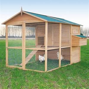 Poulailler Construire Poulailler