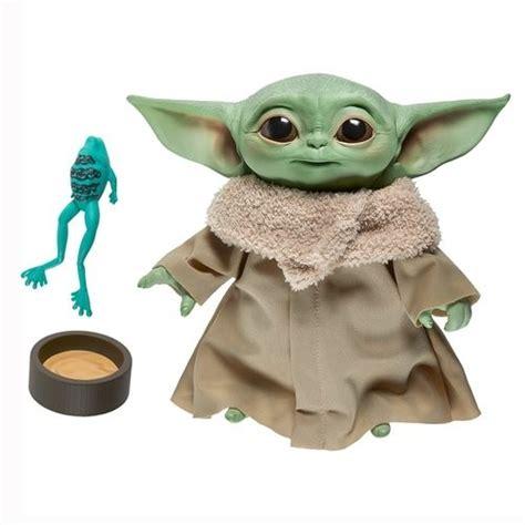Star Wars The Mandalorian 7.5 Electronic Plush Baby Yoda ...