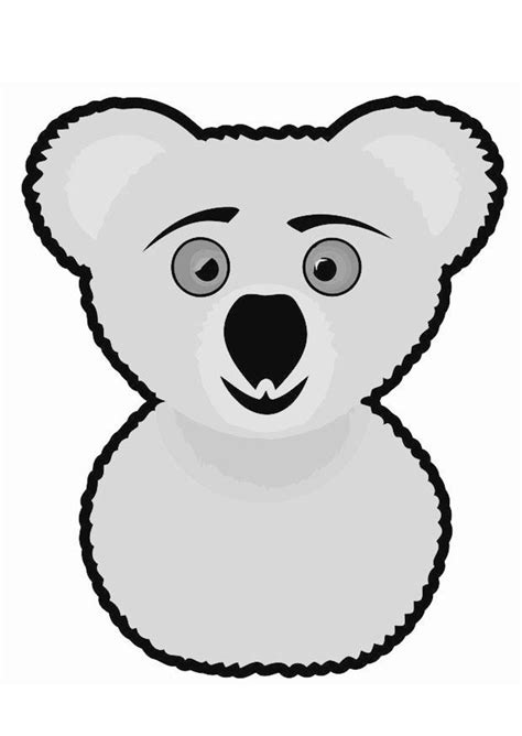dibujo  colorear koala img  images