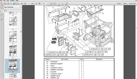 yamaha efishc generator service manual