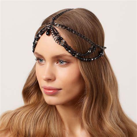 Stunning & Amazing Chain Headpiece Jewelry | Chain ...