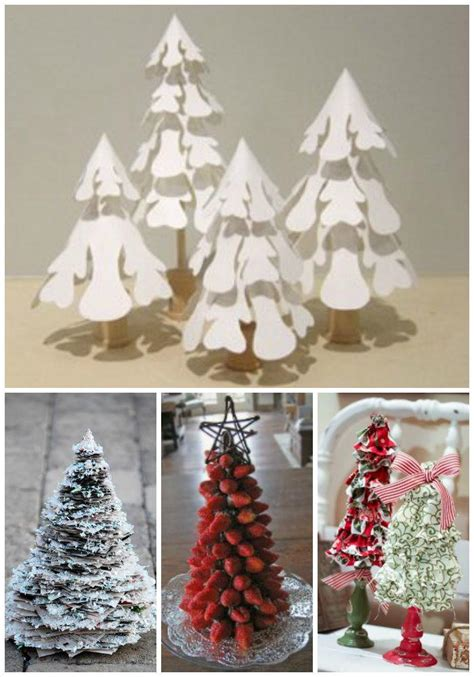 14 small christmas tree ideas tabletop trees home decor and more allfreechristmascrafts com