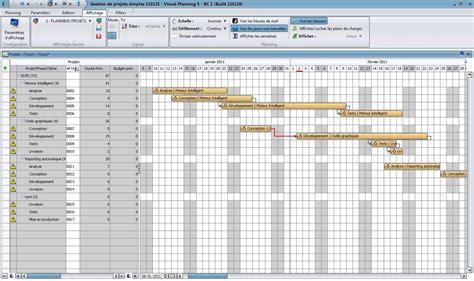 modele planning projet excel ccmr