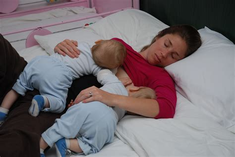 Breastfeeding Lying Down Nursing Nurture