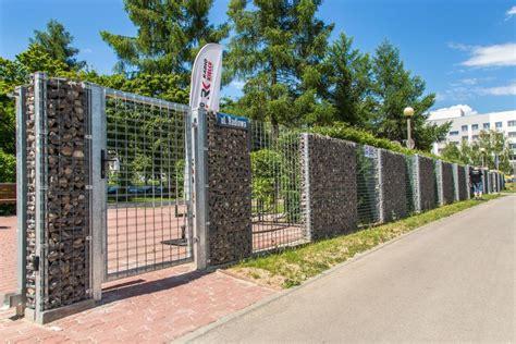6 chain link fence nowoczesne ogrodzenia gabionowe progress producent