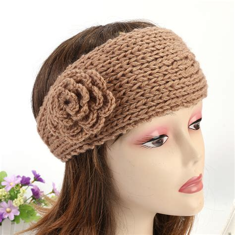 crochet hair band knitting patterns hair accessories promotion shop for