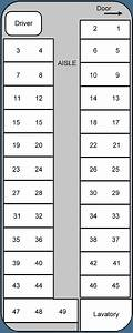 Charter Bus Seating Chart Template