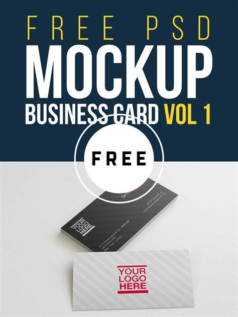 great  business card mockups templates