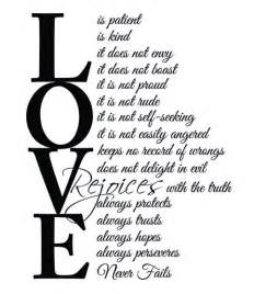 Love Is Patient Love Is Kind Poem