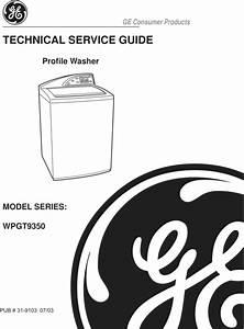 Ge Harmony Washer Repair Service Manual