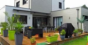 terrasses en bois extension terrasses en composites sur With amenagement terrasse en bois