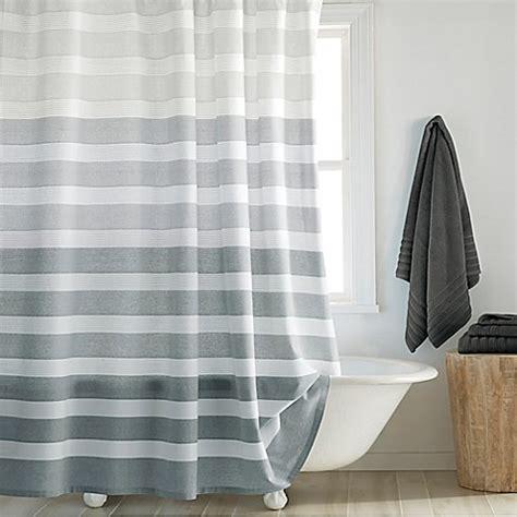 dkny highline stripe shower curtain bed bath