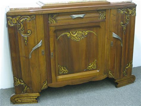 Deco Sideboard by 1935 Deco Sideboard Buffet Server