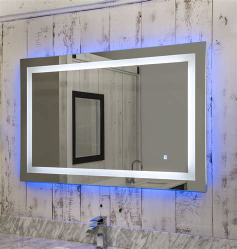 niel  led wall mirror  touch sensor broadway vanities