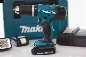Makita 18v Akkuschrauber : der akkuschrauber der auch in beton bohren kann dhp453 ~ Jslefanu.com Haus und Dekorationen