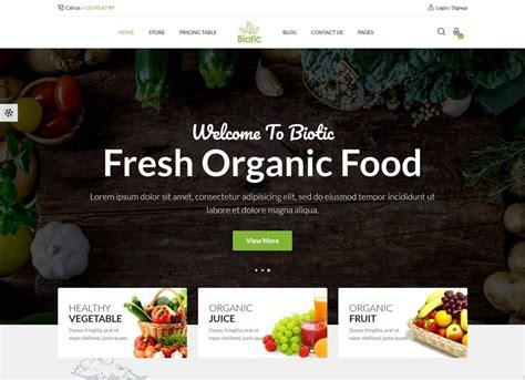 agriculture website templates  premium