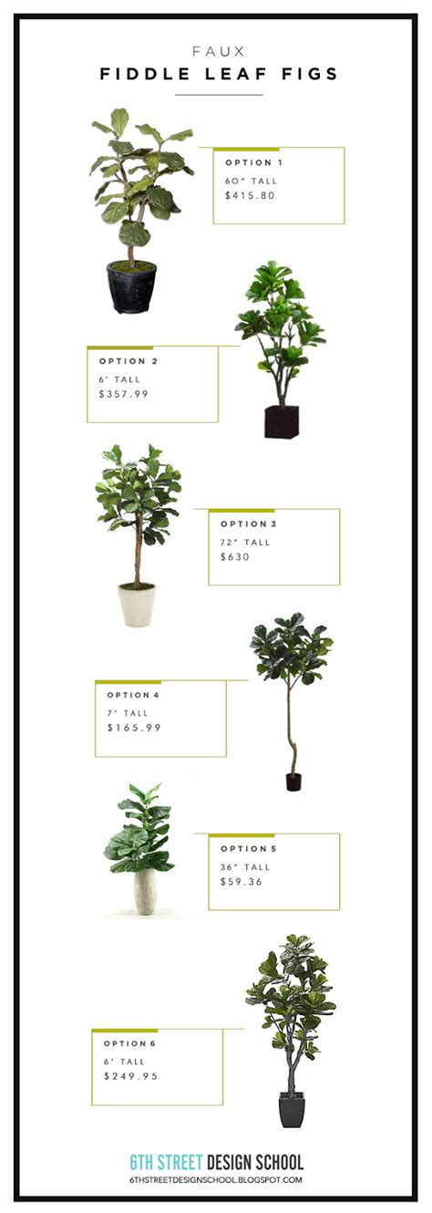 Faux Fiddle Leaf Fig Trees  House Of Jade Interiors Blog