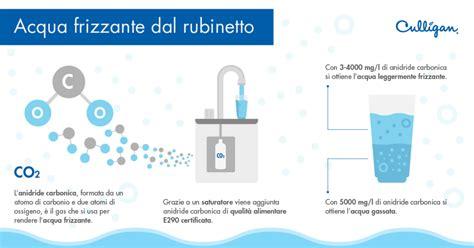 acqua gassata dal rubinetto di casa acqua frizzante dal rubinetto culligan