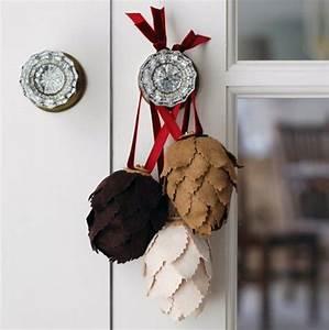 Basteln Kindern Weihnachten Tannenzapfen : weihnachtsbaumschmuck aus naturmaterialien 30 ideen ~ Whattoseeinmadrid.com Haus und Dekorationen