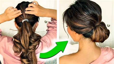 minute holiday updo hairstyles   puff easy