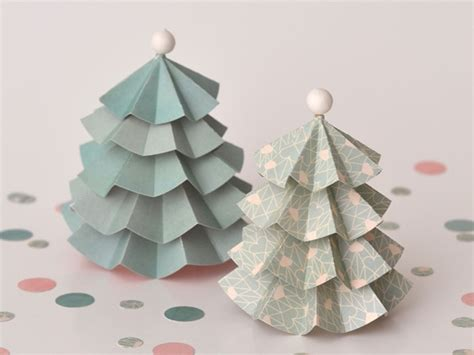 decoration de noel en papier deco de noel en papier