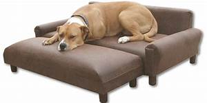 Comfortable place for your furry friend dog furniture ideas for Xl dog sofa bed