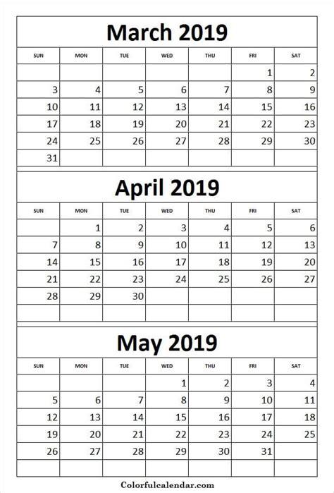 print calendar  march april  print calendar