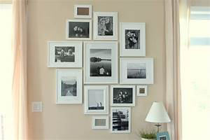 dressing up a wall pictures frames mp interiors With interior design wall of frames