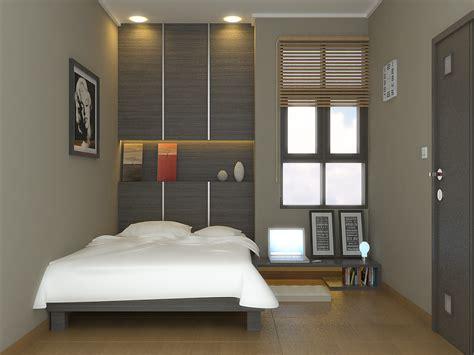 tips menata tempat tidur  ruang kamar sempit