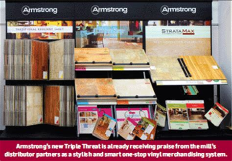 armstrong flooring displays flooring news armstrong s triple threat touts single source story floorbiz com flooring news