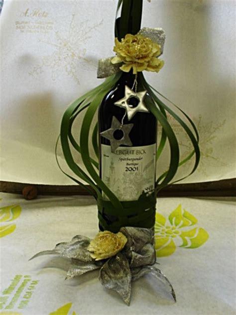 dekorierte weinflaschen gaertnerei hotz ag