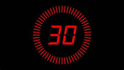 Countdown Seconds Clock Clip Circle Shutterstock Numbers