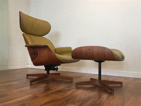 sold plycraft mid century lounge chair ottoman
