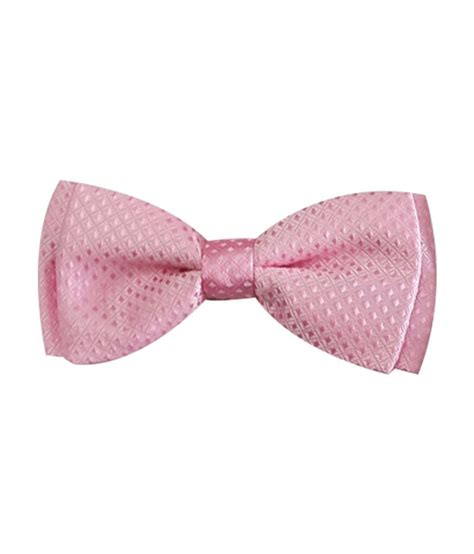 Light Pink Bow Tie by Verceys Light Pink Bow Tie And Pocket Square Buy