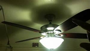 Hunter Ceiling Fan Install  Manual Control