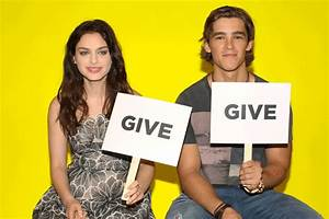 """""""Give Or Take?"""" With Brenton Thwaites And Odeya Rush ..."""