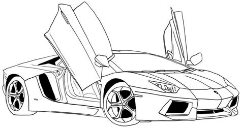 Car Coloring Pages For the Mini's Cars coloring pages