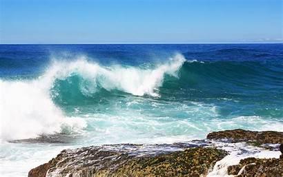 Sea Wave Wallpapers Wide