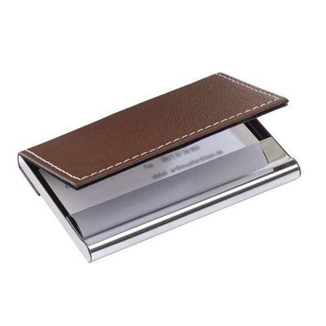 nouveau porte carte de visite cuir marron easyflyer carte de visite imprimerie en ligne