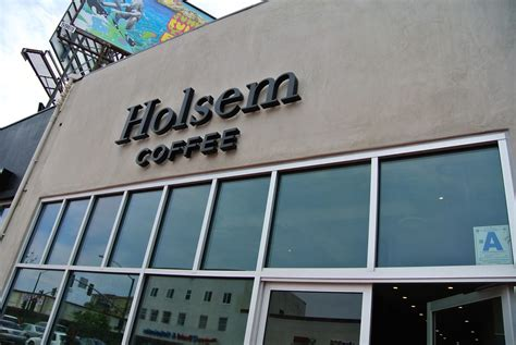 Holsem coffee is a sleek and unique coffee shop and cafe located in north park, a neighborhood in san diego, california. Holsem Coffee - San Diego Dining Dish!
