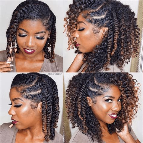 Twist Out Hairstyles For by Soooo Pretty Doing This Style Next Twist In 2019