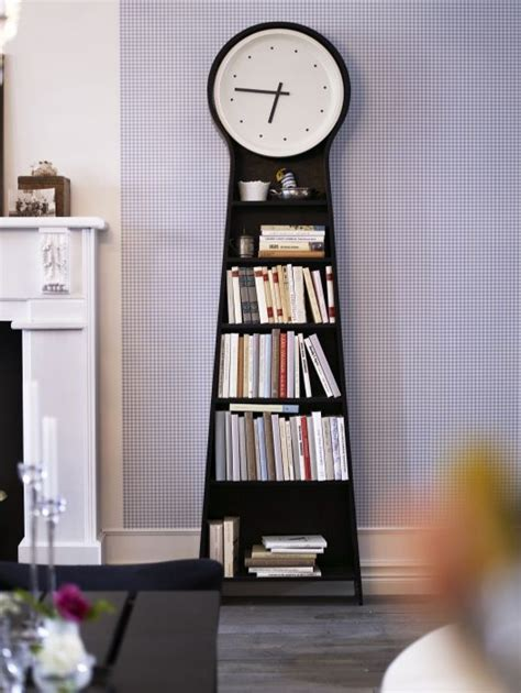 Ikea Clock Bookcase by Ikea Ps Pendel Floor Clock Black Its Always Awesome