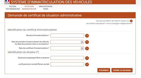 certificat non gage voiture comment savoir si un v 233 hicule est 233 sans carte grise le eplaque