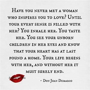 Don Juan Demarco Sexy Quotes. QuotesGram
