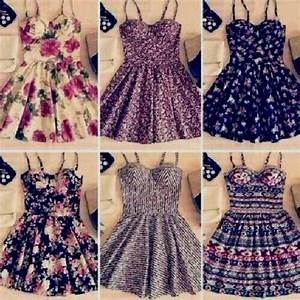 floral skater dress tumblr Naf Dresses